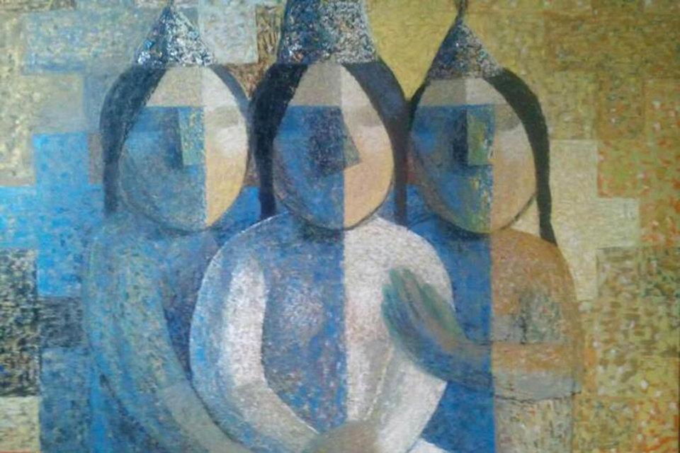 """Esentai Gallery: выставка """"Со-бытие"""""""