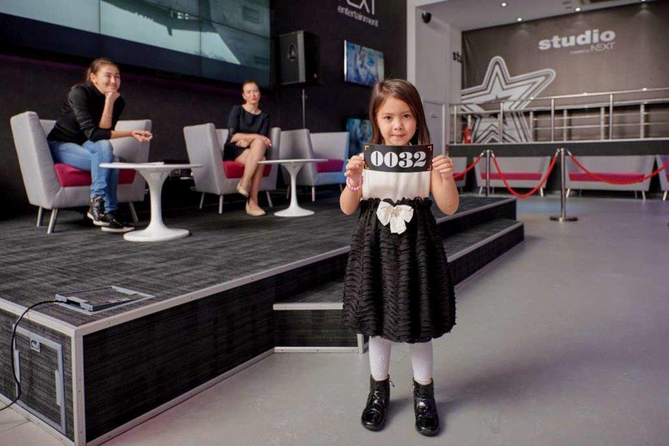 Детский кастинг для модного показа